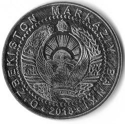 Coin > 50so'm, 2018 - Uzbekistan  - reverse