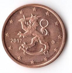 Moneda > 5céntimos, 2017 - Finlandia  - obverse