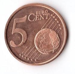 Coin > 5eurocent, 2017 - Finland  - reverse