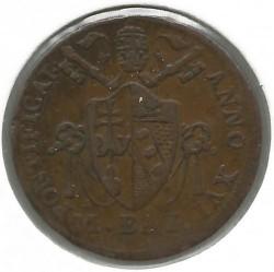 Монета > ½байокко, 1816-1822 - Папська область  - obverse