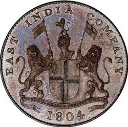"Moneta > 2pice, 1804 - Indie - Brytyjskie  (""EAST INDIA COMPANY"" na awersie) - obverse"