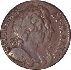 錢幣 > ½便士, 1694 - 英格蘭  - obverse