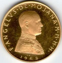 Монета > 10скуди, 1968 - Малтийски орден  - obverse