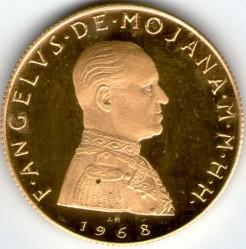 Νόμισμα > 5Σκούδα, 1968 - Κυρίαρχο Στρατιωτικό Τάγμα της Μάλτας  - obverse