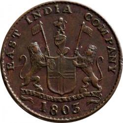 Монета > 5кэш, 1803 - Индия - Британская  (Большие буквы) - obverse