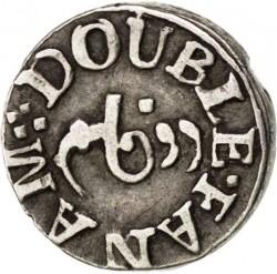 Moneta > 2fanamai, 1807 - Indija - Britų  (Apskritimas reverso centre) - obverse