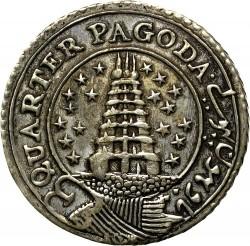 Moneta > ¼pagodos, 1808 - Indija - Britų  - obverse