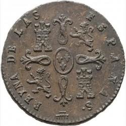 Moneta > 2maravedis, 1836-1858 - Hiszpania  - reverse