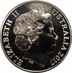 Moneta > 20centesimi, 2017 - Australia  (75th Anniversary - Sinking of the S.S. Vyner Brooke) - obverse