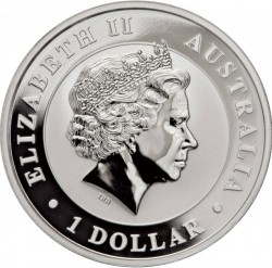 Moneda > 1dólar, 2018 - Australia  (Àguila  Australiana) - obverse