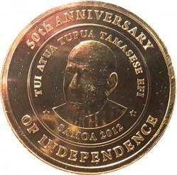 Moneda > 1tala, 2012 - Samoa  (50è aniversari de l'Independència) - obverse
