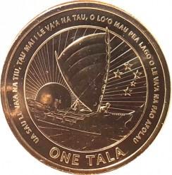 Moneda > 1tala, 2012 - Samoa  (50è aniversari de l'Independència) - reverse