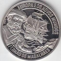 Монета > 2½ЕКЮ-та, 1997 - Португалия  (Europe and the New World - Fernan Magellan ) - reverse