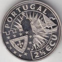 Монета > 2½ЕКЮ-та, 1993 - Португалия  (Europe and the New World - Bartolomeu Dias) - obverse