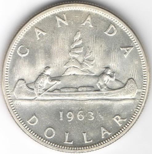 1 Dollar 1953 1963 Kanada Münzen Wert Ucoinnet