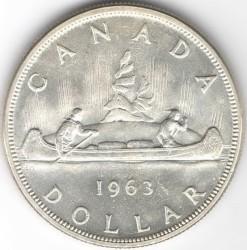 Minca > 1dolár, 1953-1963 - Kanada  - reverse