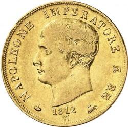 Монета > 40лір, 1807-1814 - Італія  - obverse