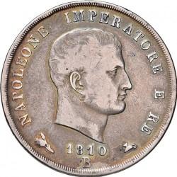 Moneta > 5liros, 1807-1814 - Italija  - obverse
