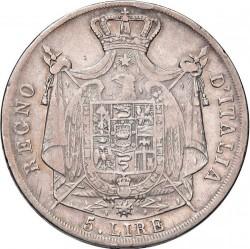 Moneta > 5liros, 1807-1814 - Italija  - reverse