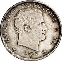 Монета > 2ліри, 1807-1814 - Італія  - obverse