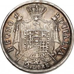 Монета > 2ліри, 1807-1814 - Італія  - reverse