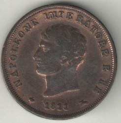Монета > 3чентезимо, 1807-1813 - Італія  - obverse