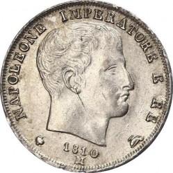 Монета > 1ліра, 1808-1814 - Італія  - obverse