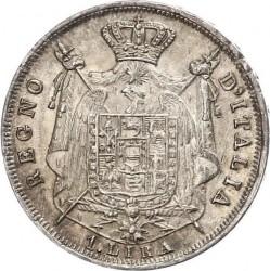 Монета > 1ліра, 1808-1814 - Італія  - reverse
