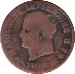 Moneta > 1čentezimas, 1807-1813 - Italija  - obverse