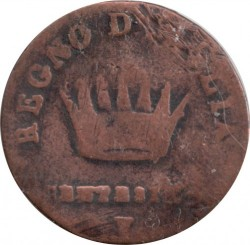 Moneta > 1čentezimas, 1807-1813 - Italija  - reverse