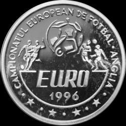 Moneta > 100lei, 1996 - Romania  (UEFA Euro 1996) - reverse