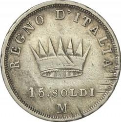 Moneta > 15soldi, 1808-1814 - Italia  - reverse