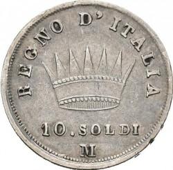 Moneta > 10soldų, 1808-1814 - Italija  - reverse