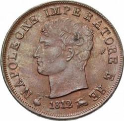 Монета > 1чентезимо, 1807-1813 - Італія  - obverse