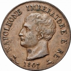 Монета > 1сольдо, 1807-1813 - Італія  - obverse