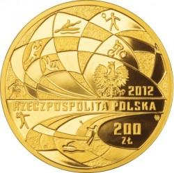 Moneda > 200zlotych, 2012 - Polonia  (XXX Juegos olímpicos de verano, Londres 2012) - obverse