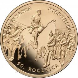 Moneda > 200zlotych, 2008 - Polonia  (90 aniversario - Independencia de Polonia) - reverse