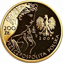 Munt > 200zlotych, 2004 - Polen  (XXVIII summer Olympic Games, Athens 2004) - obverse