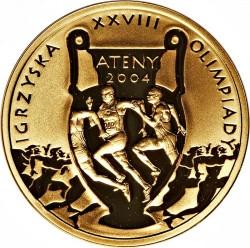 Munt > 200zlotych, 2004 - Polen  (XXVIII summer Olympic Games, Athens 2004) - reverse