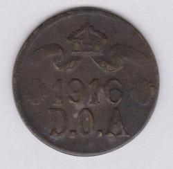 Монета > 5гелерів, 1916 - Германська Східна Африка  - obverse