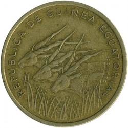 Coin > 25francs, 1985 - Equatorial Guinea  - reverse