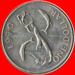 Moneta > 1dolar, 1970 - Bermudy  (Pierwsze monety w systemie dziesiętnym) - reverse