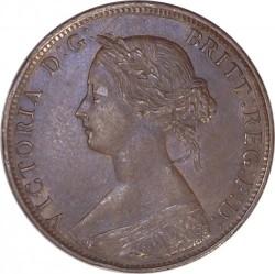 Moneda > ½penny, 1860-1873 - Regne Unit  - obverse