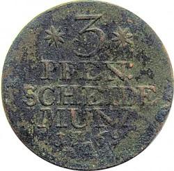 Moneta > 3pfennigi, 1761-1762 - Prusy  - reverse