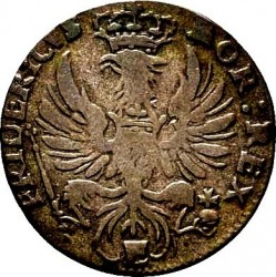Moneta > 2grosze, 1752-1753 - Prusy  (II GROSSUS) - obverse