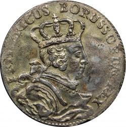 Moneta > 6groszy, 1756-1757 - Prusy  - obverse