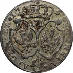 Moneta > 6groszy, 1756-1757 - Prusy  - reverse