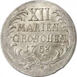 Moneta > 12groszy, 1758 - Prusy  - reverse