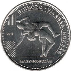 Moneta > 50forintów, 2018 - Węgry  (Mistrzostwa Świata w Zapasach 2018, Budapeszt) - obverse