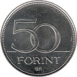 Moneta > 50forintów, 2018 - Węgry  (Mistrzostwa Świata w Zapasach 2018, Budapeszt) - reverse